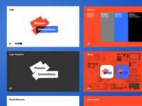 Dream Innovations Proposal Presentation company presentation designer logo designer branding vector logotype logo design