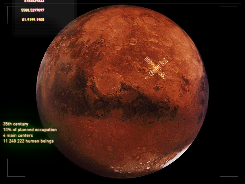 Mars One mark human station occupation migration mars one alternative future