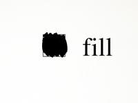 Words. fill