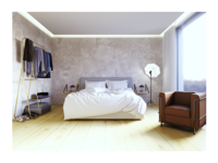 Design Hotel Room – render, Motel AM