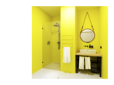 Bathroom Design – Motel AM
