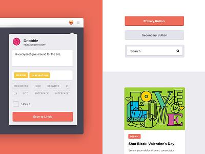 Style Tile illustration beaver collaboration share slack links side project linkip