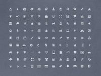 Mini glyphs