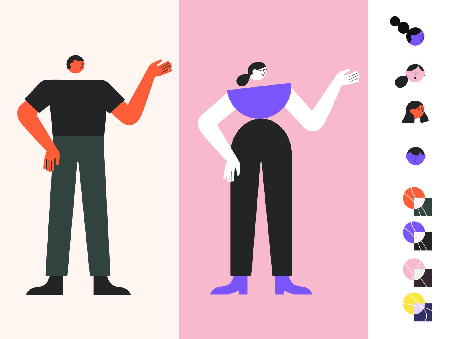 Brand Illustration Exploration for a Fin Tech Company