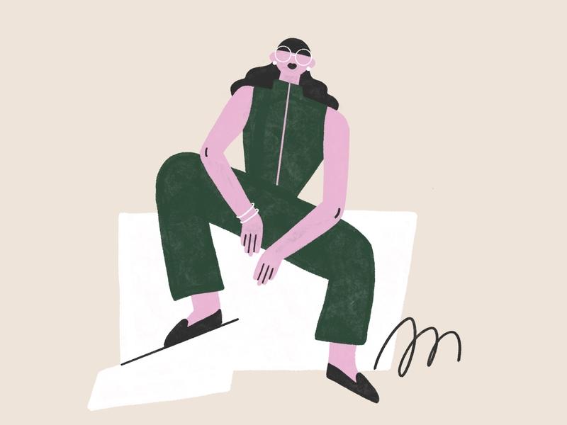 Swag 🌟 cool swag illustrator girl woman character illustration