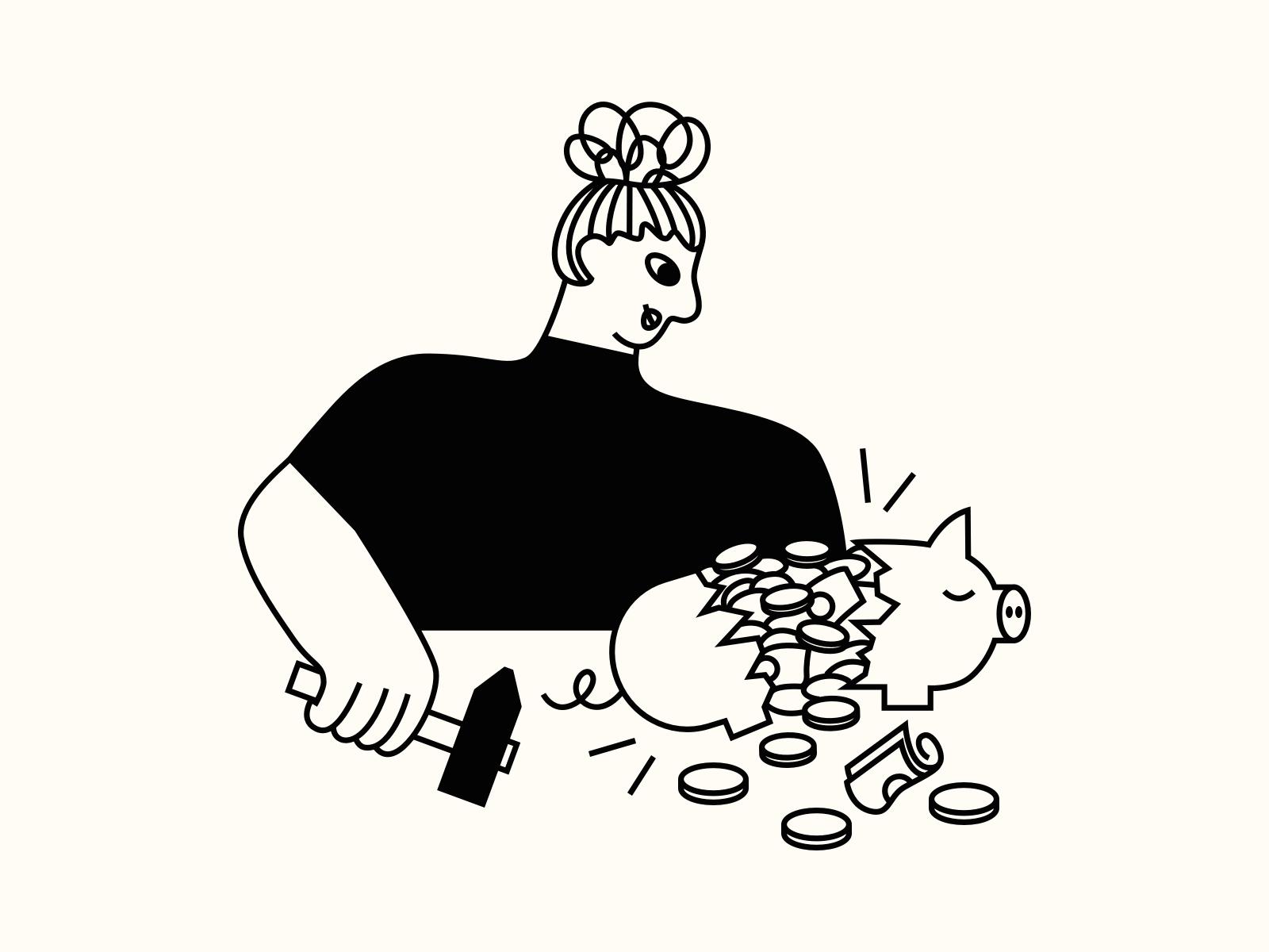 Budgeting Illustrations 💸