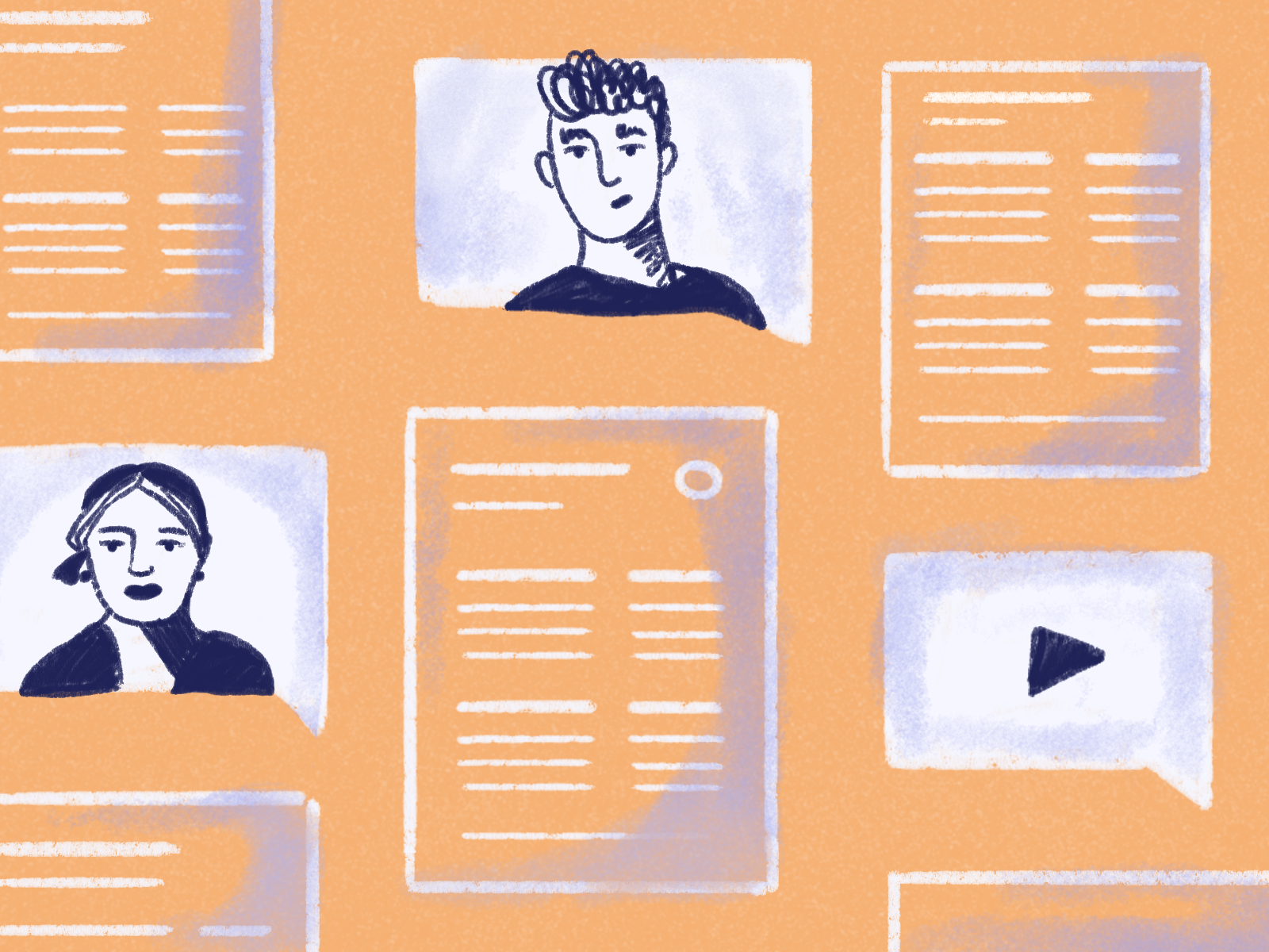 Video resume dribbble 4x