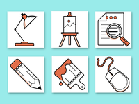 Design-Themed Icons