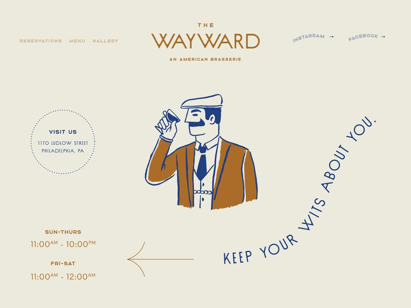 The Wayward Website