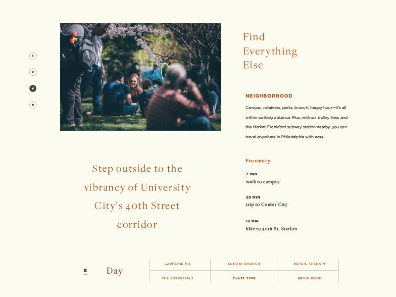 Luna On Pine fun layouts graphic design typography web design