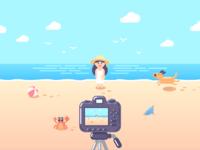 Second shot!Beach