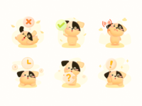 Small Yellow Dog 01