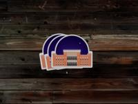 Sarajevo Stickers - City Hall