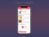 Daily Ui  004