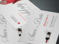 American Red Cross Save-the-Date Cards