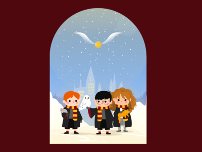 Winter at Hogwarts