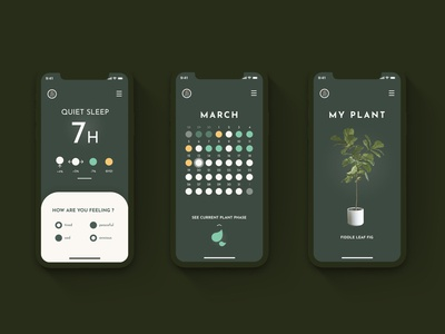 Slumber & plants