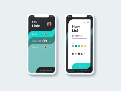 DAILY UI 016 - POP-UP/OVERLAY colors daily new list app team app team lists pop up overlays overlay ui ux ux app design ui design ui daily ui dailyui design