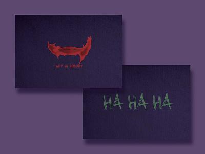 Joker business card design business card weekly challenge weekly warm-up the joker joker
