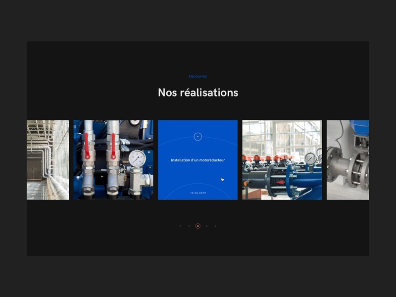 IGC Industries ux ui design 3d motion animation minimalist