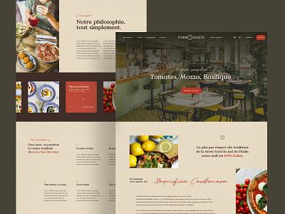 Pizza • Food vendredi studio velluti italian restaurant italian food fastfood ux template pizza