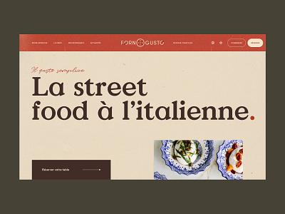 Italian Food Forever toulouse vendredi studio velluti retro fast food restaurant italian food pizza