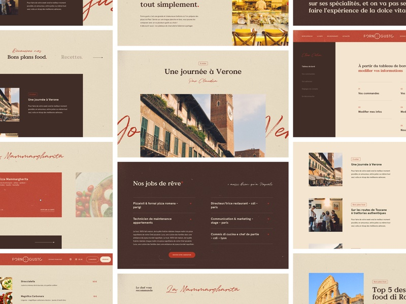 Pizza Food velluti vintage retro tyography reservation payment tunnel template restaurant food