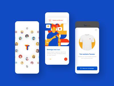 Teewee toulouse velluti vendredi branding design product app ui ux illustration application brand design branding