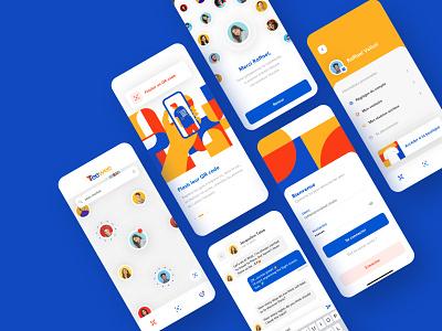 Teewee product uiux ui velluti toulouse vendredi brand design branding app application