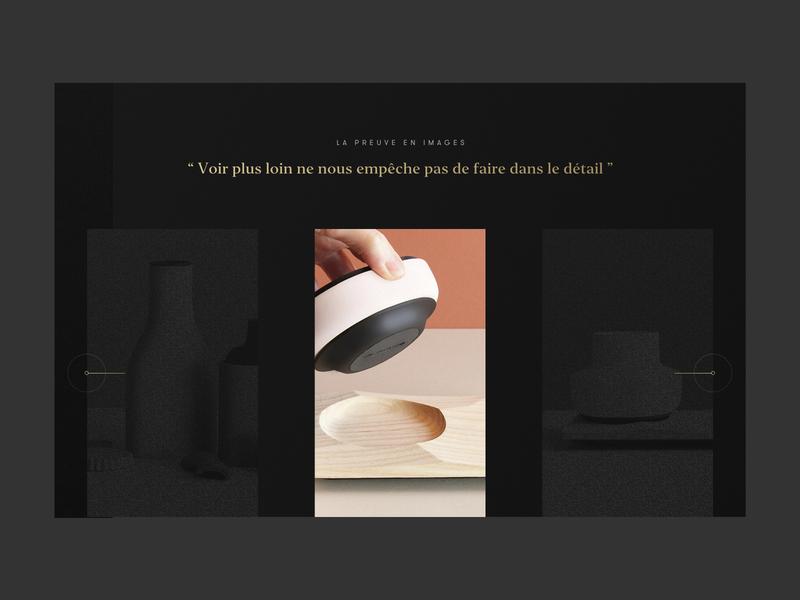 La Jungle - Slider ui design minimalist casestudy case study slideshow slider product agency
