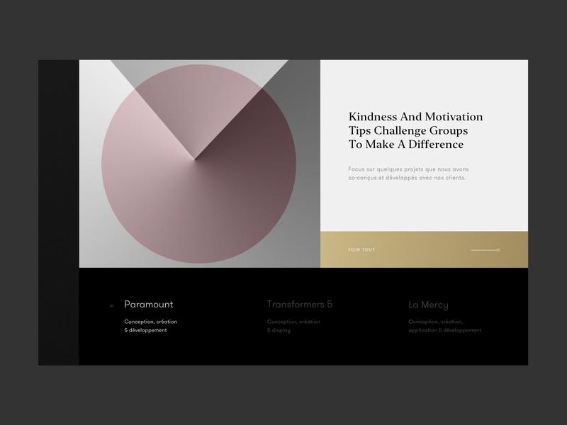 Jungle - Slider folio design art agency slider geometric minimalist