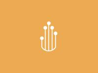 Digital hand icon