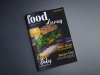 Food Magazine Cover Design