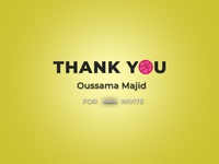 Thank You Oussama Majid