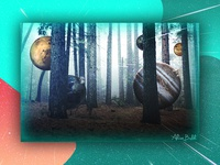 Planets in the forest - Manipulation Work