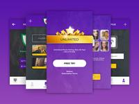 Unlimited Photo Secret App Design