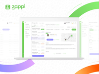 Zappi Cover Manager Dashboard