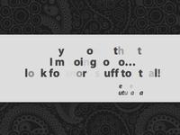 Bubble-y Text Slides