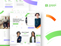 Zappi Landing Page