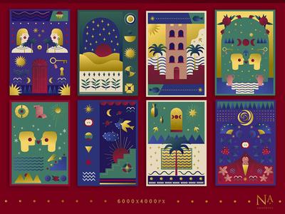 Vector Postcards