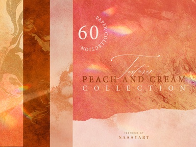 60 Peach and Cream Textures branding texture summer empty design decoration crumple creased crafted craft color collection carton brown backgrounds background backdrop art abstract