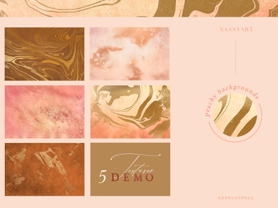 FREE 5 Textures set collection grainy peachy freebies grunge texture paper branding decorative texture abstract design freebie background pattern trendy gold peach textures free