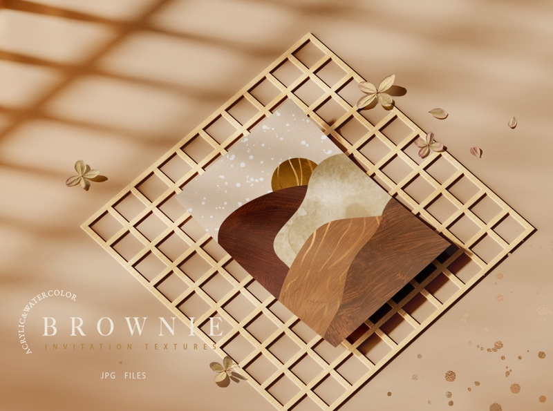 Brownie Invitation Textures scrapbooking white vintage texture sweet pattern paper old isolated heart frame food dessert design cookie closeup chocolate cake brown abstract