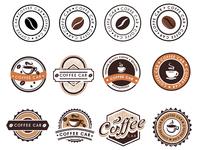 Coffe Car Logotypes