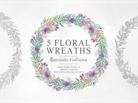 FREE Floral Wreaths