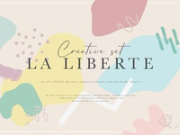 "Creative set ""La Liberte"""