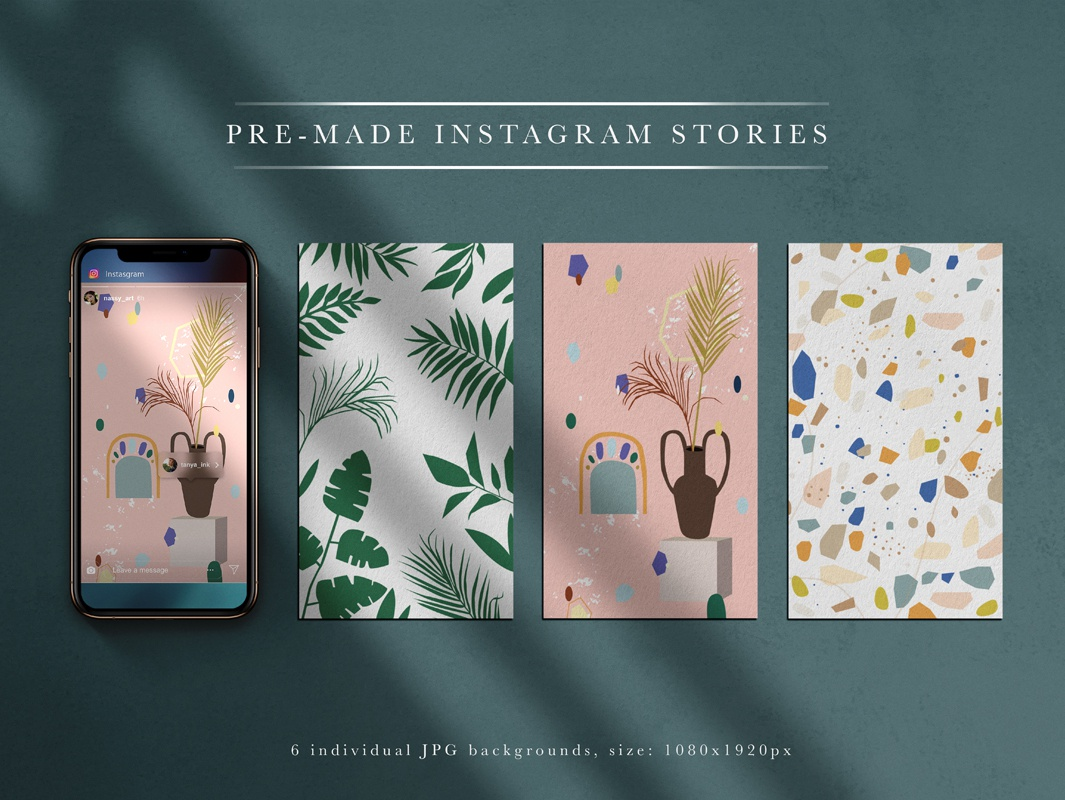 Wagga Wagga Insta Collection identity clipart textures logo vector graphic artwork stories modern illustrator posts instagram branding illustration art abstract decorative texture design background