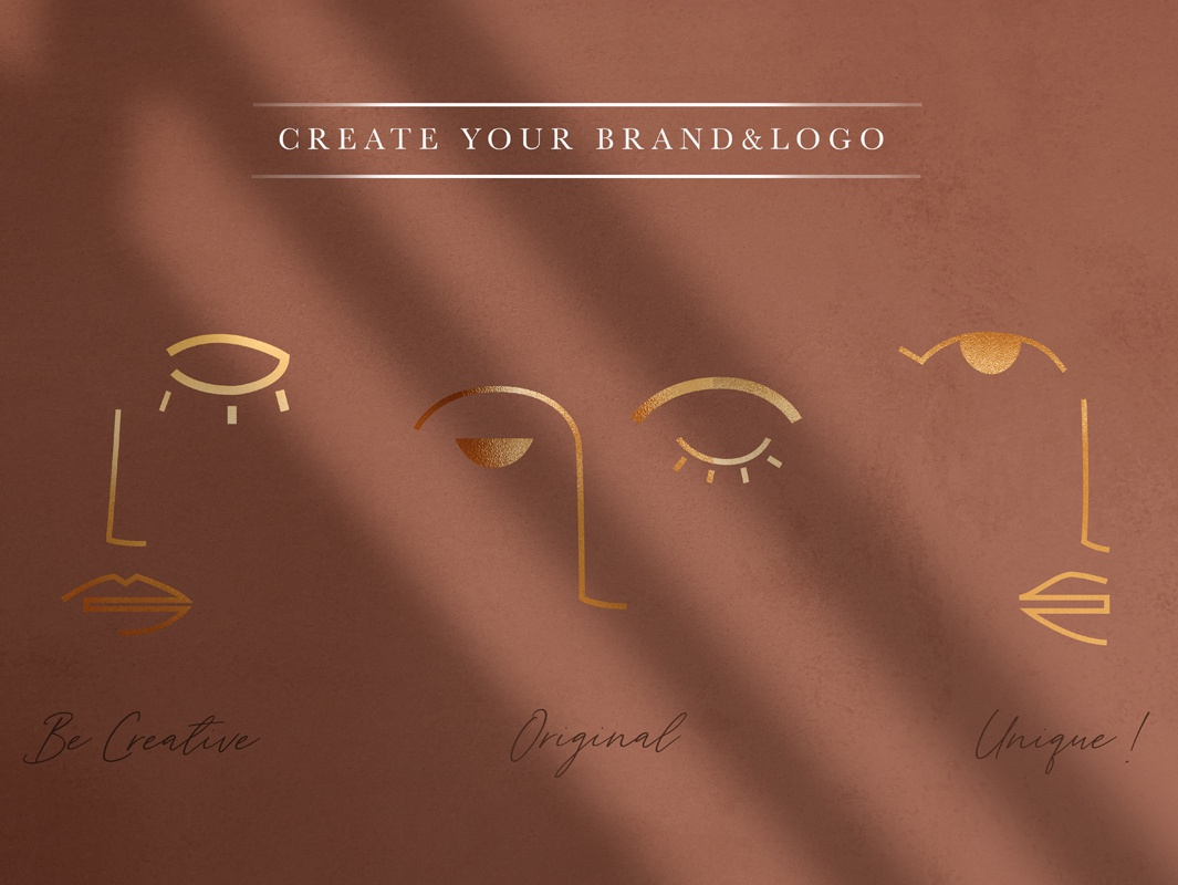 Wagga Wagga Insta Collection instagram template instagram post brand illustrator art gold foil contemporary art modern stories posts typography branding logo vector illustration art abstract decorative texture design background