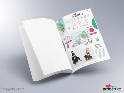 Prodeti.cz - Maminka A4 Print for magazine magazine