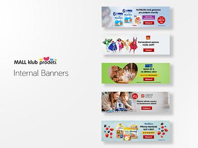 Mall klub Prodeti - Internal banners banners banner design banner ad